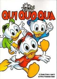Copertina MITICI DISNEY n.7 - Qui Quo Qua, CORRIERE DELLA SERA