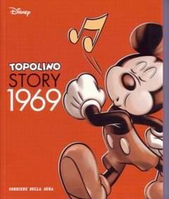 Copertina TOPOLINO STORY n.21 - Topolino Story 1969, CORRIERE DELLA SERA
