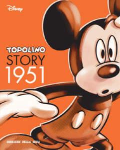 Copertina TOPOLINO STORY n.3 - Topolino Story 1951, CORRIERE DELLA SERA