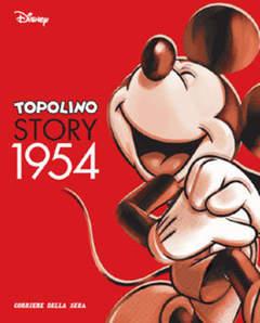 Copertina TOPOLINO STORY n.6 - Topolino Story 1954, CORRIERE DELLA SERA