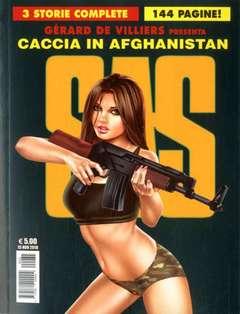 Copertina S.A.S. n.2 - CACCIA IN AFGHANISTAN, COSMO EDITORIALE