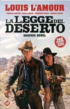 Copertina LA LEGGE DEL DESERTO n. - LA LEGGE DEL DESERTO, COSMO EDITORIALE