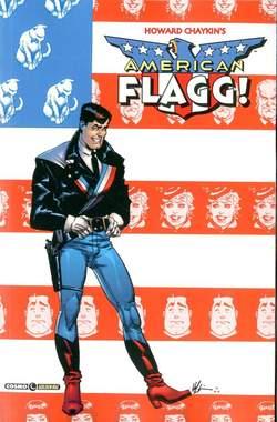 Copertina AMERICAN FLAGG! n.1 - AMERICAN FLAGG!, COSMO EDITORIALE