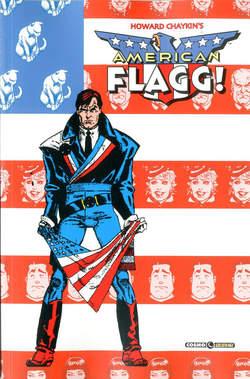 Copertina AMERICAN FLAGG! n.2 - AMERICAN FLAGG!, COSMO EDITORIALE