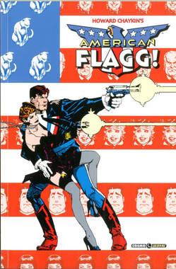 Copertina AMERICAN FLAGG! n.3 - AMERICAN FLAGG!, COSMO EDITORIALE