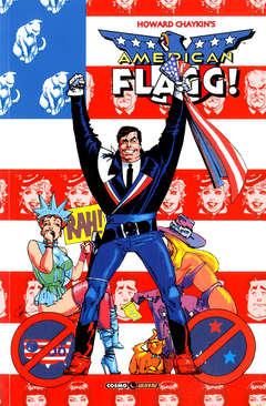 Copertina AMERICAN FLAGG! n.6 - NESSUN POSTO E' BELLO COME CASA PROPRIA, COSMO EDITORIALE