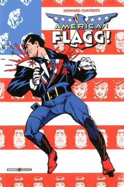 Copertina AMERICAN FLAGG n.4 - AMERICAN FLAGG, COSMO EDITORIALE