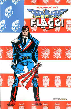 Copertina AMERICAN FLAGG n.2 - AMERICAN FLAGG, COSMO EDITORIALE
