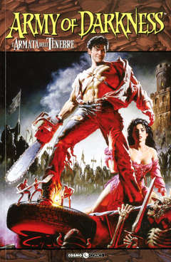 Copertina ARMY OF DARKNESS n.1 - ASH, COSMO EDITORIALE