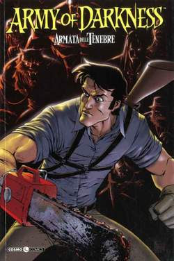 Copertina ARMY OF DARKNESS n.3 - LA MORTE DI ASH, COSMO EDITORIALE