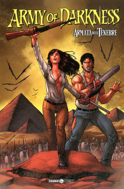 Copertina ARMY OF DARKNESS n.7 - CACCIA AL NECRONOMICON, COSMO EDITORIALE