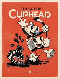 Copertina ART OF CUPHEAD n. - THE ART OF CUPHEAD, COSMO EDITORIALE