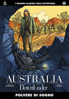 Copertina AUSTRALIA n.2 - POLVERE DI SOGNO, COSMO EDITORIALE