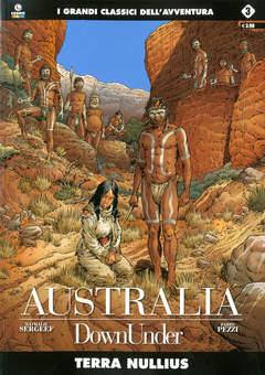 Copertina AUSTRALIA n.3 - TERRA NULLIUS, COSMO EDITORIALE