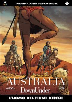 Copertina AUSTRALIA n.1 - L'UOMO DEL FIUME KENZIE, COSMO EDITORIALE