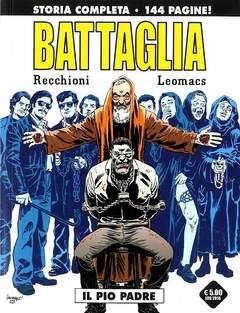 Copertina BATTAGLIA #6 Variant n. - IL PIO PADRE, COSMO EDITORIALE