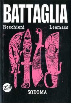 Copertina BATTAGLIA n.4 - IL NUOVO CHE AVANZA, COSMO EDITORIALE