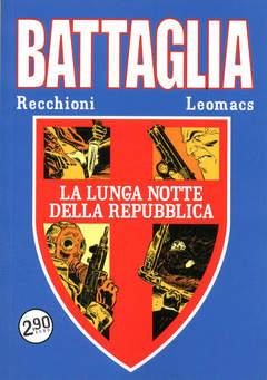 Copertina BATTAGLIA n.2 - LA LUNGA NOTTE DELLA REPUBBLICA, COSMO EDITORIALE