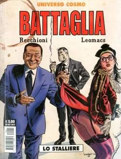 Copertina BATTAGLIA LO STALLIERE n. - LO STALLIERE, COSMO EDITORIALE