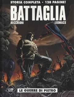 Copertina BATTAGLIA PACK n. - Contiene BATTAGLIA vol. unico + BATTAGLIA 0 e 1, COSMO EDITORIALE