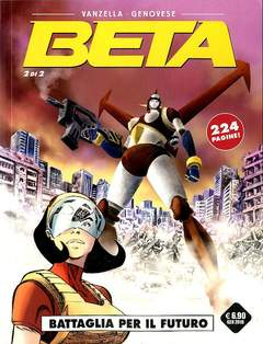 Copertina BETA (m2) n.2 - BATTAGLIA PER IL FUTURO, COSMO EDITORIALE