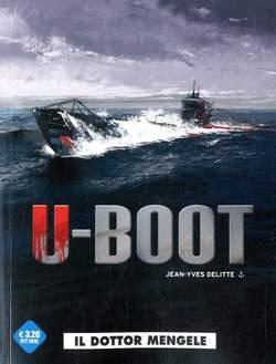 Copertina U-BOOT (m2) n.1 - IL DOTTOR MENGELE, COSMO EDITORIALE