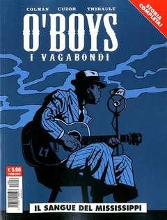 Copertina O'BOYS I VAGABONDI n. - IL SANGUE DEL MISSISSIPPI, COSMO EDITORIALE