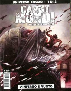 Copertina CAPUT MUNDI II Serie n.1 - L'INFERNO E' VUOTO, COSMO EDITORIALE