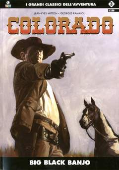 Copertina COLORADO (m5) n.3 - BIG BLACK BANJO, COSMO EDITORIALE
