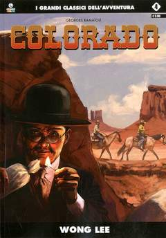 Copertina COLORADO (m5) n.4 - WONG LEE, COSMO EDITORIALE