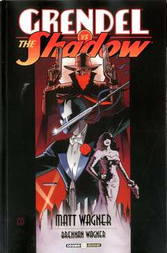 Copertina GRENDEL VS THE SHADOW n. - GRENDEL VS THE SHADOW, COSMO EDITORIALE