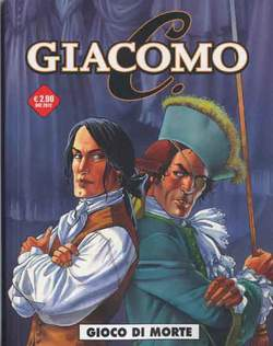Copertina COSMO OMAGGI n.11 - GIACOMO C 2 GIOCO DI MORTE, COSMO EDITORIALE