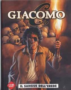 Copertina COSMO OMAGGI n.12 - GIACOMO C.3 IL SANGUE DELL'EREDE, COSMO EDITORIALE