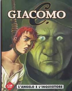 Copertina COSMO OMAGGI n.13 - GIACOMO C 4 L'ANGELO E L'INQUISITORE, COSMO EDITORIALE