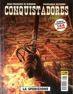 Copertina CONQUISTADORES n. - CONQUISTADORES, COSMO EDITORIALE