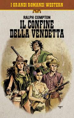 Copertina COSMO SERIE POCKET (m14) n.2 - IL CONFINE DELLA VENDETTA, COSMO EDITORIALE