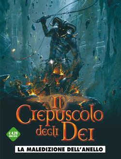 Copertina CREPUSCOLO DEGLI DEI (m10) n.1 - LA MALEDIZIONE DELL'ANELLO, COSMO EDITORIALE