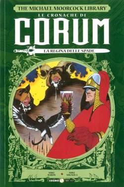 Copertina CRONACHE DI CORUM n.2 - LA REGINA DELLE SPADE, COSMO EDITORIALE