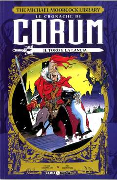 Copertina CRONACHE DI CORUM n.4 - IL TORO E LA LANCIA, COSMO EDITORIALE