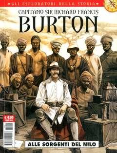 Copertina ESPLORATORI DELLA STORIA n.4 - SIR FRANCIS BURTON: ALLE FOCI DEL NILO, COSMO EDITORIALE