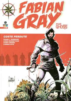 Copertina FABIAN GRAY n.2 - FIVE GHOSTS - COSTE PERDUTE, COSMO EDITORIALE