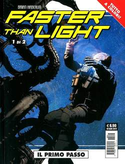 Copertina FASTER THAN LIGHT (m2) n.1 - FASTER THAN LIGHT (m2), COSMO EDITORIALE
