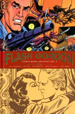 Copertina FLASH GORDON ARCHIVES n.3 - FLASH GORDON COMIC-BOOK ARCHIVES, COSMO EDITORIALE