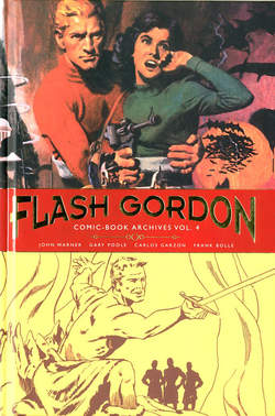 Copertina FLASH GORDON ARCHIVES n.4 - FLASH GORDON COMICS ARCHIVES, COSMO EDITORIALE