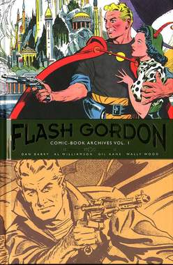 Copertina FLASH GORDON COMIC BOOK ARCHIV n.1 - 1966-1967, COSMO EDITORIALE