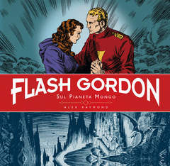 Copertina FLASH GORDON Ediz. definitiva n.1 - SUL PIANETA MONGO, COSMO EDITORIALE