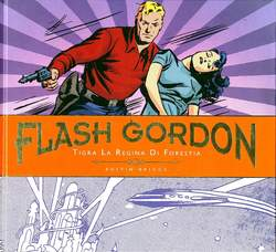 Copertina FLASH GORDON Tavole Giornal. n.2 - TIGRA LA REGINA DI FORESTIA, COSMO EDITORIALE