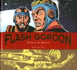 Copertina FLASH GORDON Tavole Giornal. n.4 - RITORNO SU MONGO, COSMO EDITORIALE