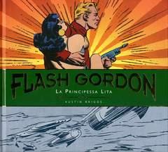 Copertina FLASH GORDON Tavole Giornaliere - 1940 - 1942 n.1 - LA PRINCIPESSA LITA, COSMO EDITORIALE