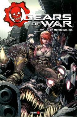 Copertina GEARS OF WAR n.4 - GEARS OF WAR, COSMO EDITORIALE